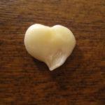 Heart-shaped garlic by Marie Easy