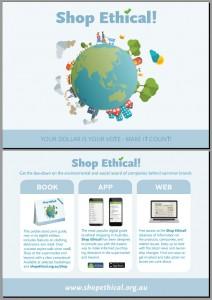 Shop Ethical! postcard