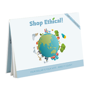 Shop Ethical! pocket guide