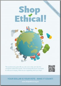 Shop Ethical! poster